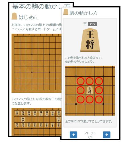 将棋トライアルコンテンツ:レクチャー